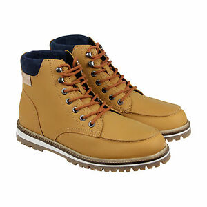 259df9f30 Lacoste Montbard Boot SRM Leather Sneaker Shoe Tan Ankle Boot Men Sz ...