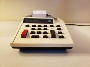 Rare-Vintage-SHARP-ELSI-MATE-Electronic-Printing-Calculator-EL-1058-Tested-Works