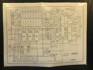 Commodore-64-Schematic-Diagram-Poster