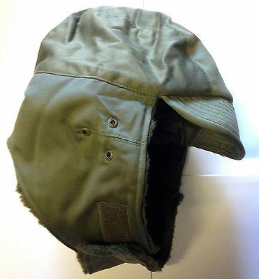 Original Militär Wintermütze  100%  Armeemütze oliv Gr. 58