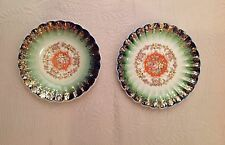 Leigh Ware Plates by Leigh Potters 1920s 22K Trim