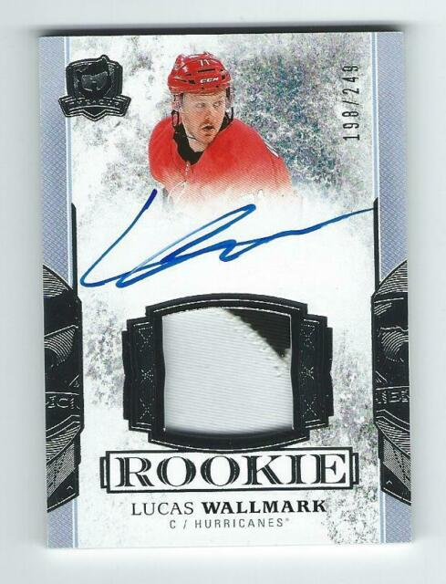 LUCAS WALLMARK ROOKIE AUTO/PATCH 17-18 THE CUP, 198/249