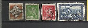 410-COMPLETA-NORGE-NORUEGA-1930-N-147-50-7-500
