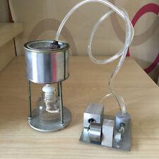 Mini Steam Engine Model Kit Complete Set w/ Boiler Horizontal Twin Cylinders New