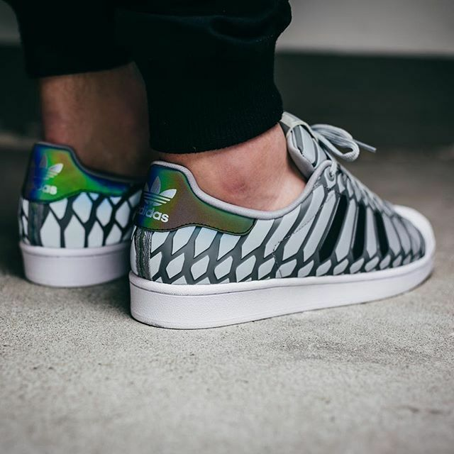 Adidas Superstar Grey Snack Xeno Pack Women's Girls Trainers All Sizes 3 4 5 6 7
