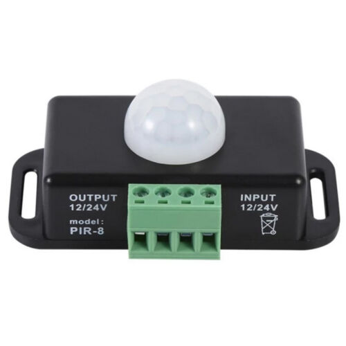 Automatischer 12V 24V 8A Infrarot PIR Bewegungs sensor Schalter Fur LED-Lic Z9S5