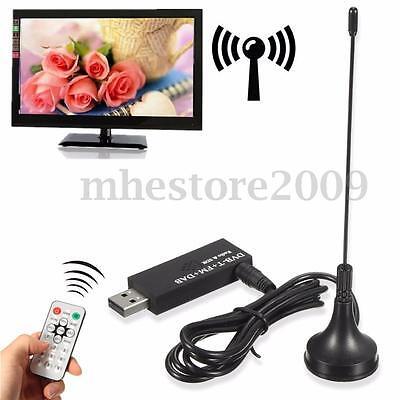 Digital ISDB-T DVB-T HDTV TV Tuner Recorder Receiver Antenna Remote fr PC Laptop