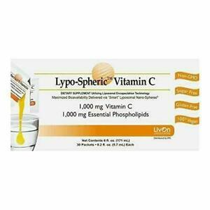 LivOn LSC30-12 Lypo-Spheric Vitamin C - 30 Pieces