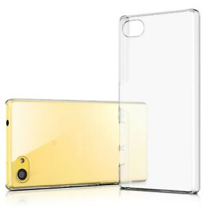 Nouvelle Mode Coque Housse Etui Pour Xperia Z5 Compact [crystal Ultra Fin 0.8mm] Design Professionnel
