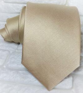Cravatta-uomo-classica-beige-Made-in-Italy-100-SETA-business-matrimoni-RP-38