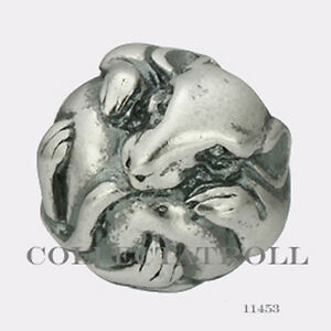 Authentic TrollBeads Silver Chinese Goat Trollbead 11460  TAGBE-40027