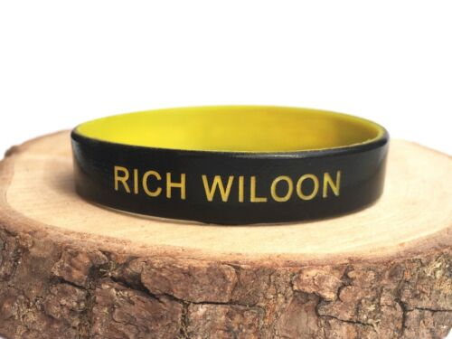 Kids Personalized Wristband Silicone Band Custom Customized Childrens 152mm