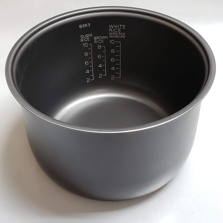 Remplacement Zojirushi antiadhésif intérieur Cuisine Pan pour Zojirushi NS-TSC18 NL-AAC18