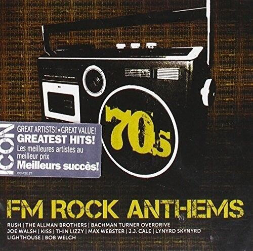 Various Artists - Icon 70s FM Rock Anthems / Various [New CD] Canada - Import