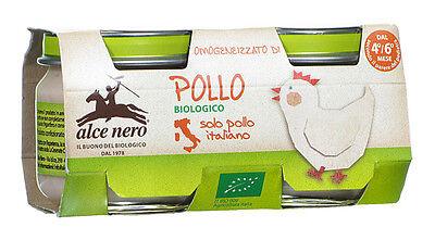 Franco Alce Nero Omogeneizzato Di Pollo Biologico Bianchezza Pura