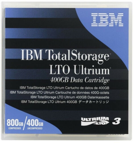 IBM 24R1922 LTO3 ULTRIUM 400GB 800GB LTO-3 TAPES IBM WARRANTY 10 PACK NEW