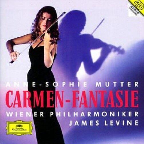 ANNE-SOPHIE MUTTER/JAMES LEVINE/WP - CARMEN-FANTASIE  CD RAVEL/TARTINI/+  NEW!