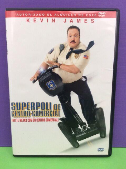 SUPERPOLI DE CENTRO COMERCIAL- KEVIN JAMES- DVD- USADO GARANTIZADO