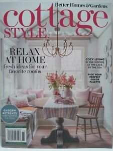 Better Homes and Gardens Cottage Style Spring Summer 2021 Relax at Home