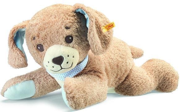 NUOVO Steiff Baby Sweet Dreams Dog Puppy adatta dalla nascita + Steiff BOX 239724