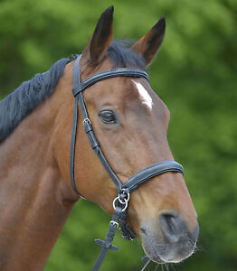 Waldhausen-Star-Bitless-Padded-Leather-Bridle-With-Reins
