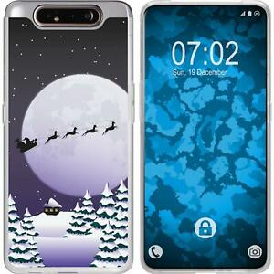 Samsung-Galaxy-A80-Coque-en-Silicone-Noel-X-Mas-M5-Case-films-de-protection