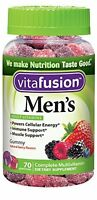5 Pack - Vitafusion Men's Daily Multivitamin Gummy 70 Each on sale