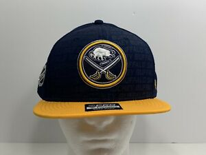 Buffalo-Sabres-NHL-Fanatics-Pro-SnapBack-Cap-Navy-Blue-NEW
