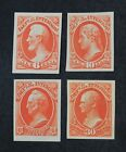 CKStamps: US Stamps Collection Scott#O18P3/O23P3 Unused LH NG Proof