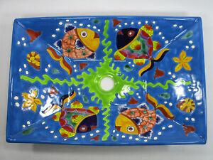 21 RECTANGULAR TALAVERA SINK vessel mexican bathroom handmade ceramic folk art