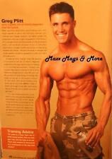 Men's AHF Magazine #27 army captain iconmen GREG PLITT