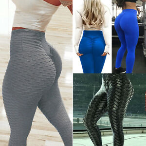 d520e5704dd76 Image is loading Womens-Yoga-Gym-Anti-Cellulite-Compression-Leggings-Butt-