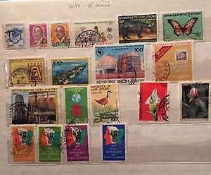 Leaves-Cote-Ivory-Cuba-Denmark-Gabon-See-Les-4-Photo-46-Stamps-Num5