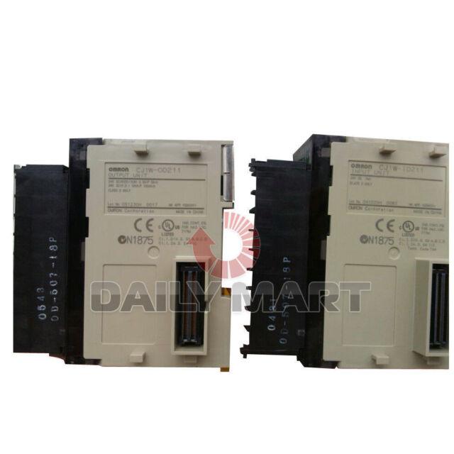 1PC Omron  CJ1W-ID211 PLC Input Module CJ1WID211 New In Box