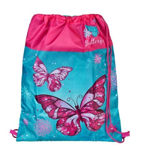 Butterfly Schuhbeutel Sportbeutel Turnbeutel Sporttasche Beutel Tasche Rucksack
