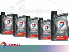 OLIO MOTORE TOTAL QUARTZ INEO ECS 5W30 5 litri  5x1L pacco da 5 litri