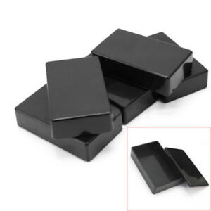5PCS-ABS-Plastic-Electronic-Project-Box-Enclosure-Instrument-Case-100x60x25mm