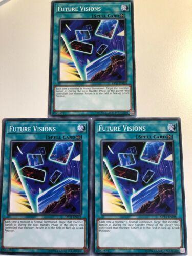 Yugioh Future Vision OP11-EN018 Common Mint Condition x3