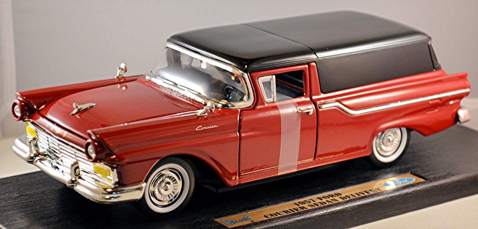 Ford Courier Sedan Delivery 1957 rot rot 1 18 Yat Ming  | Verrückter Preis, Birmingham