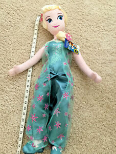 Disney-Store-Frozen-Snow-Queen-Elsa-Plush-Doll-26-inch-NWT-Authentic-2014