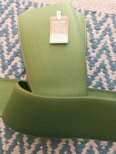 ✂ fantástico elástico stretchband verde anchura 78 mm METERWARE ✂