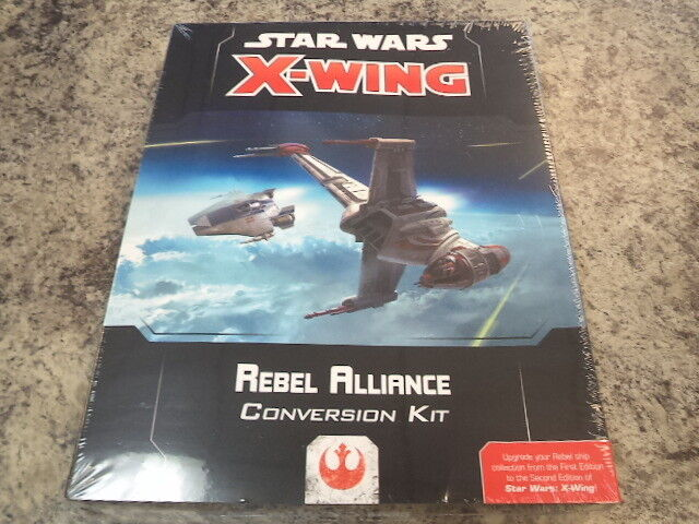 Star Wars X-Wing 2nd Edition Rebel Alliance Conversion Kit Miniatures Game New