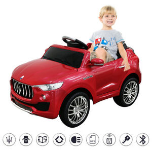 Image is loading 6V-Licensed-Maserati-Kids-Ride-On-Car-RC-  sc 1 st  eBay & 6V Licensed Maserati Kids Ride On Car RC Remote Control Opening ...