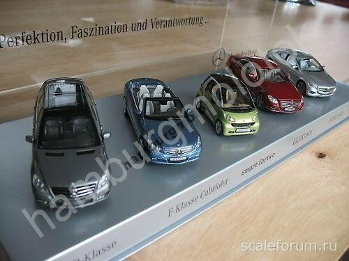 Set Mercedes 1:43 2010 Minichamps NOREV SPARK w251 w212 w218 f800 451 Limited