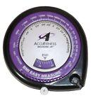 AccuFitness BMI Easy Measure – BMI Calculator & Body Tape Measure