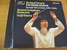 RICHARD STRAUSS EIN HELDENLEBEN BOSTON SYMPHONY OZAWA  CD PHILIPS