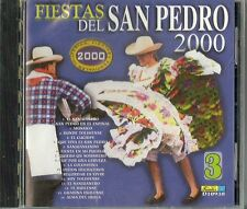 Fiesta Del San Pedro 2000 Latin Music CD New