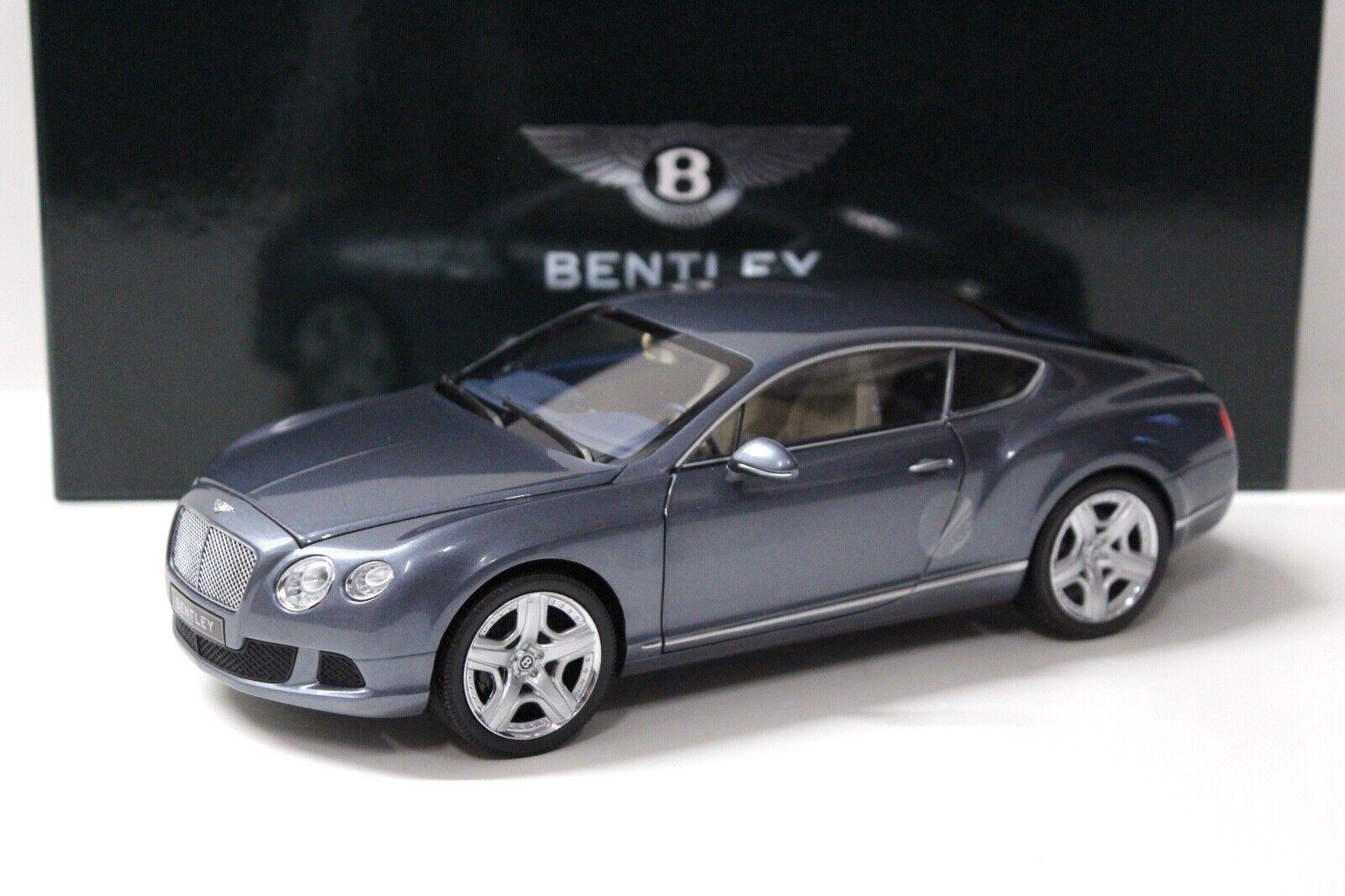 1 18 Minichamps Bentley Continental GT 2011 grau DEALER NEW bei PREMIUM-ModelllCAR