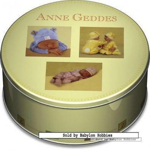 1000 pcs jigsaw puzzle  Anne Geddes - Lovely Babies Deluxe Tin Box 3x
