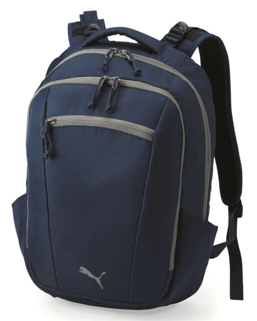 "PUMA  21.4L Stealth 2.0 15"" Laptop / MacBook Pro Navy Backpack - PSC1012 - New"